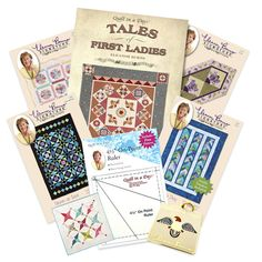 Eleanor Burns' New Book: Tales of First Ladies and Their Quilt ... : first ladies quilt - Adamdwight.com