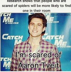 Scared to death of dear Aaron <3 *crossing my fingers that he will appear*