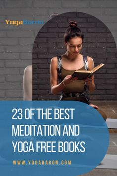 Check out these free yoga and meditation book reads for beginners. Learn whether a beginner can learn yoga solely from books and without a guru or teacher. #yogabooks #meditation #meditationbook #yogateacher #yoga #yogatips Meditation Books, Yoga Books, Best Meditation, Fitness Facts, Group Fitness, Health Fitness, Reading For Beginners, Yoga For Beginners, Beginner Yoga