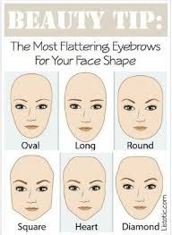 Eyebrows are one of the main point on your face. Choose the appropriate eyebrows style can make you look younger. Here are some eyebrows style for different face shape. Check it out:D Beauty Make-up, Beauty Secrets, Beauty Hacks, Hair Beauty, Beauty Tips, Beauty Care, Fashion Beauty, Beauty Trends, Fashion Fashion
