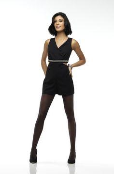 Meia-calça OPACA FIO 20 LOBA 05898-001 - Cor: 9990 - PRETA
