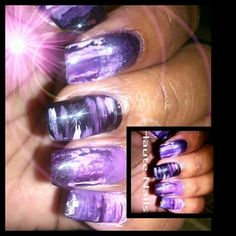 Unique ombre @haute_nails