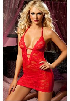 Its all about surprise sometimes, you know when he walks into the room and you're wearing red lingerie like this....