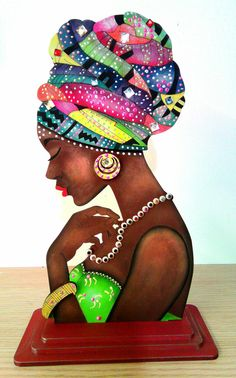 Best 12 African woman on canvas – SkillOfKing. African Art Paintings, African Artwork, African American Art, African Women, Afrique Art, Black Art Pictures, Black Love Art, Art Africain, Black Artwork