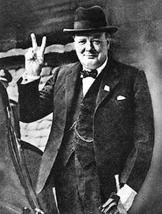 Winston Churchill introduces his 'V for Victory' campaign on this day 19th July, 1941. It rapidly spread through Europe and the BBC took the first four notes of Beethoven's Fifth Symphony, which matched the dot-to-dot dash Morse code for the letter V and played it before news bulletins
