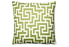 Green Outdoor Pillow from One Kings Lane >> https://www.onekingslane.com/?utm_source=hgtv_medium=pinterest_campaign=april_content=diy_term=feat.board=pinterest