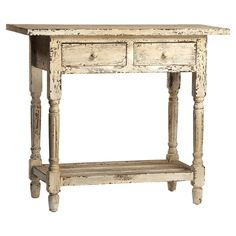 Cowper Side Table #in a brighter color though? Maybe coral?
