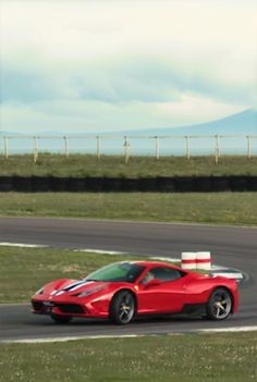 Watch The Ferrari 488 GTB Face Off Against The 458 Speciale on Track
