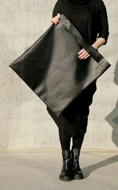 N Bag | by IF irinaflorea | minimalist leather bag | https://www.facebook.com/irinafloreadesign/