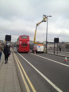 On Waterloo Bridge Today... the tourists are trying to get a better view. #WBR