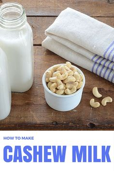 Smooth, creamy and naturally sweet, this dairy-free Cashew Milk recipe is a fantastic milk substitute. It's also super easy to make because unlike other nut milk recipes, it does not require a nut milk bag. You can simply whip it up in the blender without the hassle of straining out the pulp, and it's ready to go!