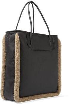 Shop on-sale Alexander Wang Prisma shearling-trimmed leather tote. Browse other discount designer Totes & more on The Most Fashionable Fashion Outlet, THE OUTNET.COM