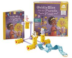 Another #gift idea for the young #engineers, GoldieBlox teaches spatial skills and engineering principles -- and looks FUN.