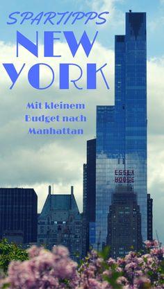 Eine New York Reise ist besonders teuer? Nicht unbedingt. Mit Hilfe dieser New York Spartipps kannst du auch mit geringem Budget nach Manhattan reisen.
