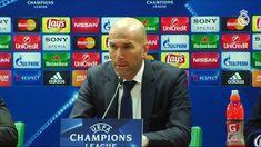 Video Zidane. Sus palabras tras la victoria. Roma 0-2 Real Madrid
