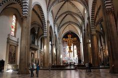 Santa Maria Novella in Florence: internal view