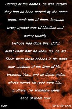 Butch BDB Black Dagger Brotherhood