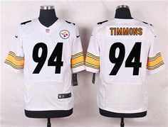 d84d4dd26 Nike Pittsburgh Steelers  94 Lawrence Timmons White Jersey