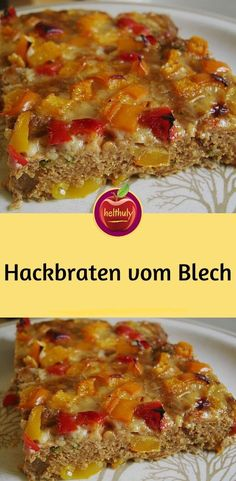 simply meatloaf from the einfach Hackbraten vom Blech Ingredients 500 g minced meat, mixed 4 m. – large egg (s) 50 g breadcrumbs 3 tsp mustard, medium hot 1 tsp paprika powder, hot - Easy Smoothie Recipes, Easy Smoothies, Good Healthy Recipes, Healthy Snacks, Snack Recipes, Mince Meat, Meat Loaf, Hamburger Meat Recipes, Meatloaf Recipes