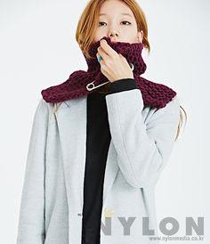 Lee Hojeong by Hwang Hyejeong for Nylon Korea Jan 2015