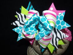 Items similar to Triple Layered Hairbow Crazy Girl Boutique Bow and Interchangeable Headband on Etsy Boutique Bows, Girls Boutique, Boutique Ideas, Baby Hair Bows, Diy Bow, Crazy Girls, Craft Materials, Girls Bows, Little Princess