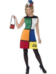 Rubiks Cube dress - possibility for fancy dress party in August - Love it!