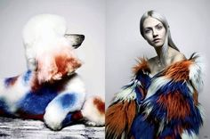Models Go Twinsies With Cute Canines For Garage Magazine via @WhoWhatWearUK