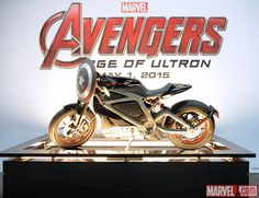 SDCC 2014: Harley Davidson's Project LiveWire on the Marvel Stage
