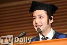 Delivering the graduation speech :)