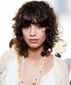 Mika Argañaraz tiene el look de pelo del otoño