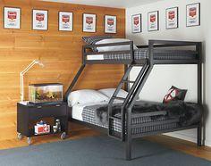 Fort Kids' Steel Duo Bunk Bed - Modern Bunks & Lofts - Modern Kids Furniture - Room & Board