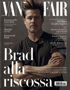 Brad Pitt - Vanity Fair Magazine Cover [Italy] (1 February 2017)