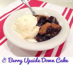 "Berry ""Upside-Down"" Cake {Gluten Free}"