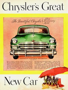 1949 Chrysler Silver Anniversary Model   Flickr - Photo Sharing!