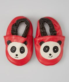 Red Panda Bear Booties