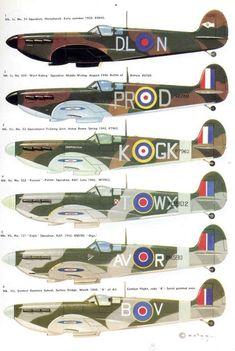 Merlin Spitfires