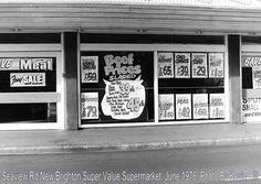 Butcher, Seaview Road, New Brighton, Christchurch NZ Christchurch New Zealand, New Brighton, Old Skool, Memories, Sun, Retro, Boys, Outdoor Decor, Memoirs