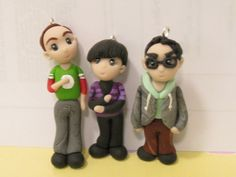 The Big Bang Theory,Leonard,Sheldon,Howard The eyes on Sheldon and Howard are all wrong, but they're so cute!!!