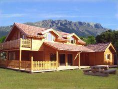 Casas de Madera en León   Casas Prefabricadas de Madera en León