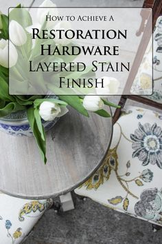 Refinishing Furniture Diy Table Restoration Hardware 67 Ideas For 2019 Diy Table Top, A Table, Console Table, Trends 2018, Painted Furniture, Diy Furniture, Trendy Furniture, Refinished Furniture, Furniture Repair