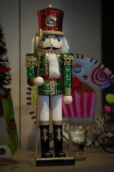 Nutcracker Christmas Deco Photograph