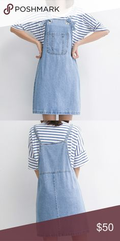 Denim Overall Dress > new > bundle & save > use offer button MintyDayDream Dresses