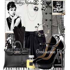 """Audrey Hepburn"" by blaircorneliawaldorf on Polyvore"