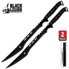 Martial Arts Supplies, Great Sword, Ninja Sword, Martial Arts Weapons, Types Of Swords, Cool Swords, Ninja Weapons, Samurai Swords, Black Oxide