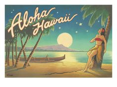 Pacifica Island Art Leatherette Luggage Baggage Tag Hawaii by Taylor White