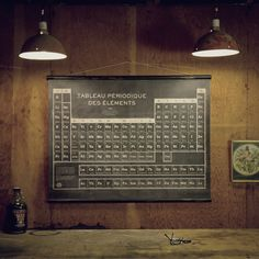 French Periodic Table (black)
