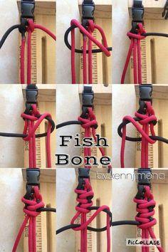 Fish Bone Paracord Bracelet Pictutorial