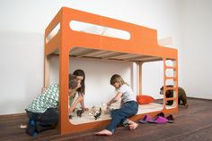 Stylish and Practical Bunk Bed – AMBERintheSKY by Perludi | Kidsomania