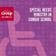Group's free guide gives suggestions to help make your special needs ministry an efficient and meaningful place to develop a relationship with Jesus for kids who can sometimes be overlooked in Sunday… Church Ministry, Youth Ministry, Ministry Ideas, Church Activities, Bible Activities, Religious Education, Special Education, Personalized Books For Kids, Sunday School Teacher