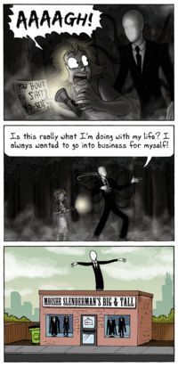 Slender Man (you gotta click this one.)